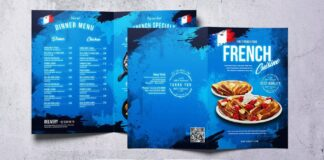 French Cuisine Food Menu Bundle