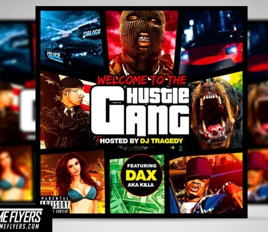 GTA Mixtape Cover Template