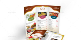 Indian Restaurant Trifold Menu (1)