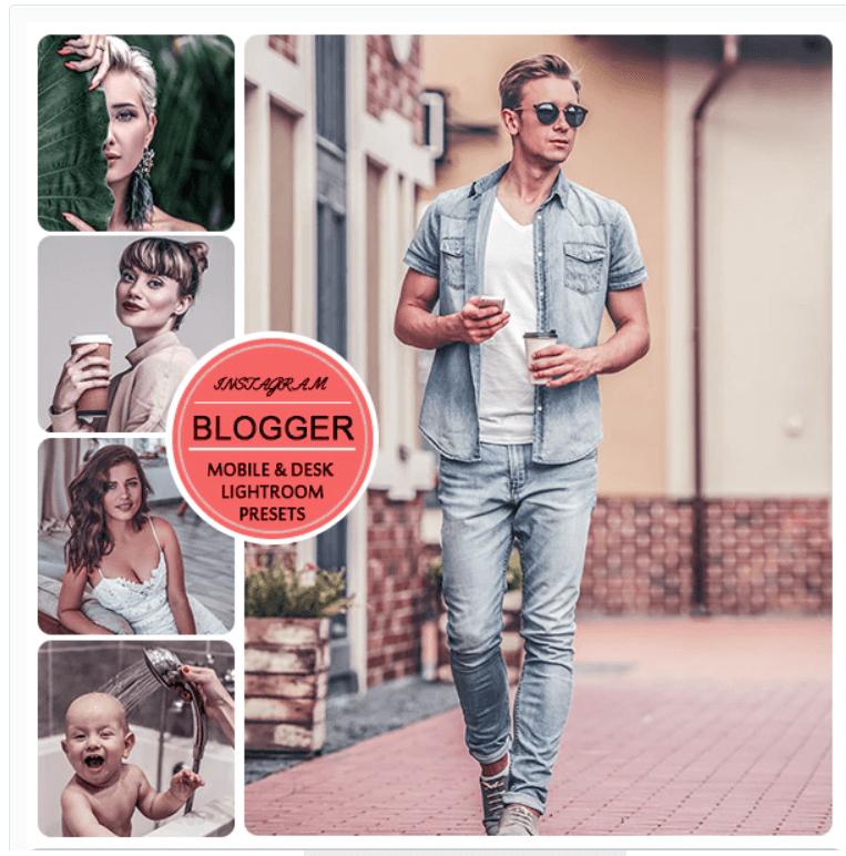 Instagram Blogger Presets for Mobile and Desktop Lightroom