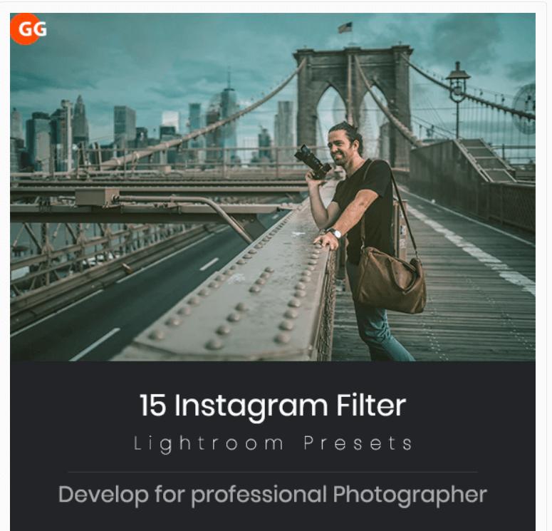 Instagram Filter Lightroom Presets