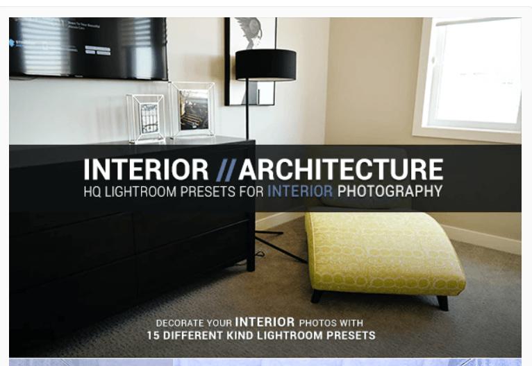 Interior Architecture Lightroom Presets