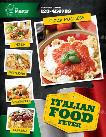 Italian Food Flyer (1)