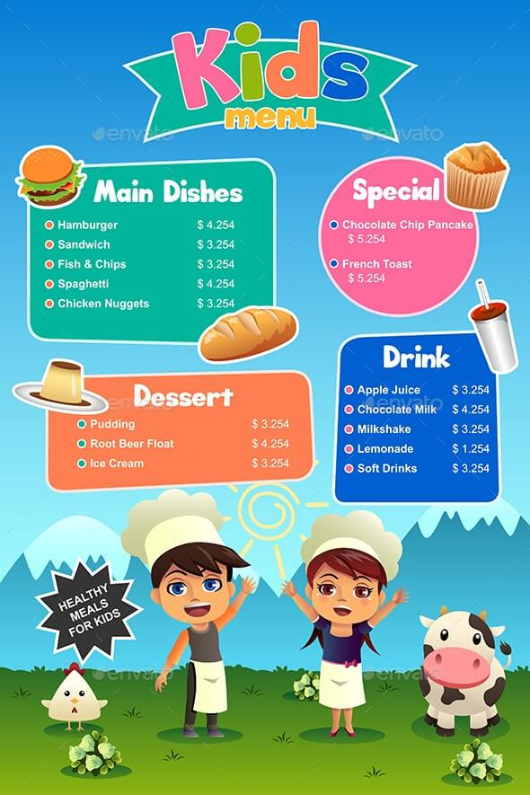 Kids Meal Menu (1)