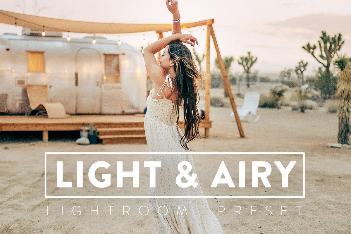 LIGHT & AIRY Lightroom Mobile Pr...