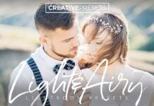 Light & Airy Lightroom Presets +...