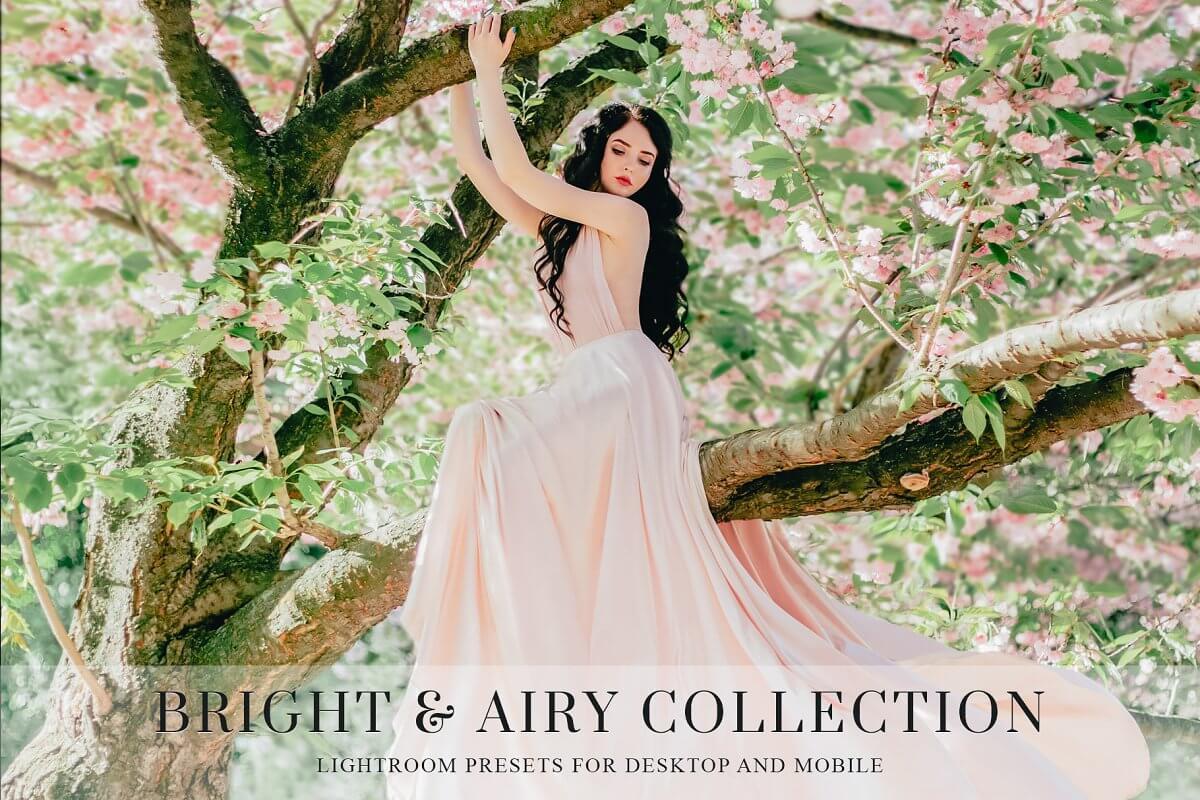 Light & Airy Lightroom Presets (1)