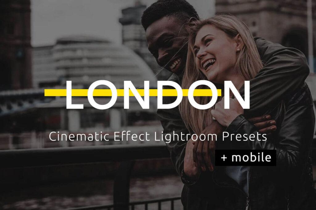 London - Cinematic Lightroom Presets