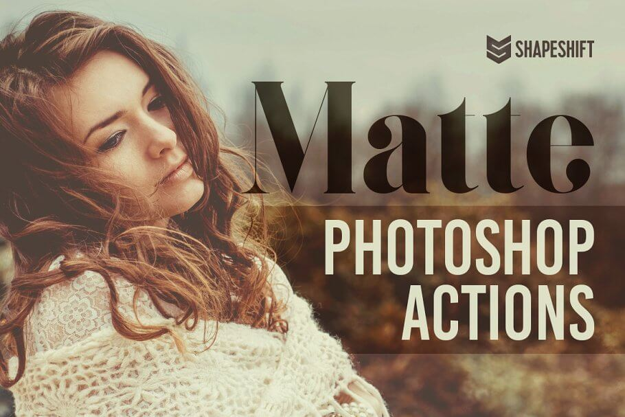 Matte Photoshop Actions1