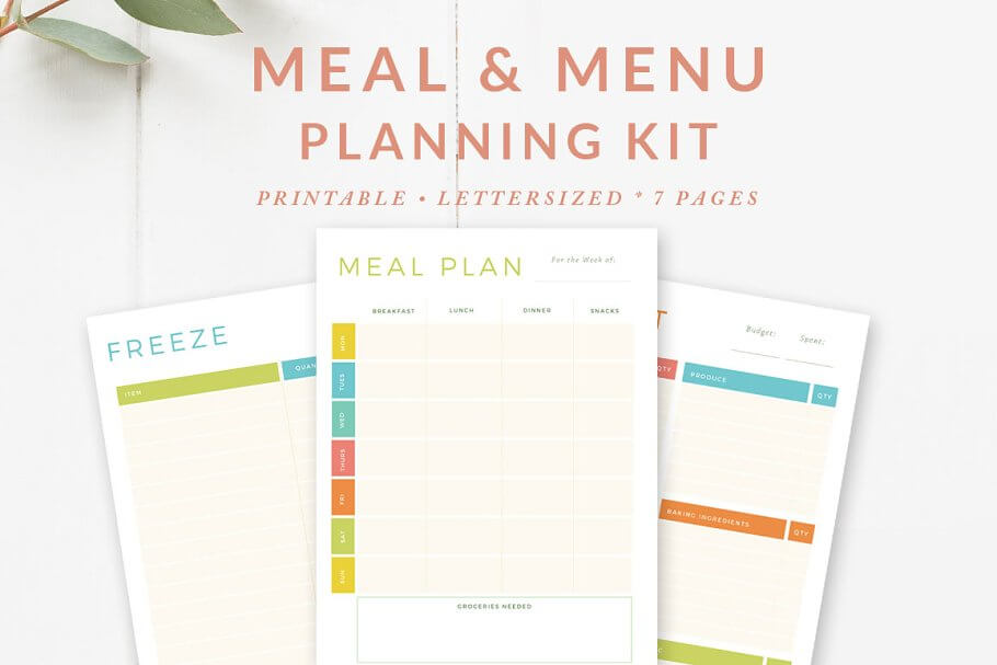 Meal Menu Planning Kit (1)