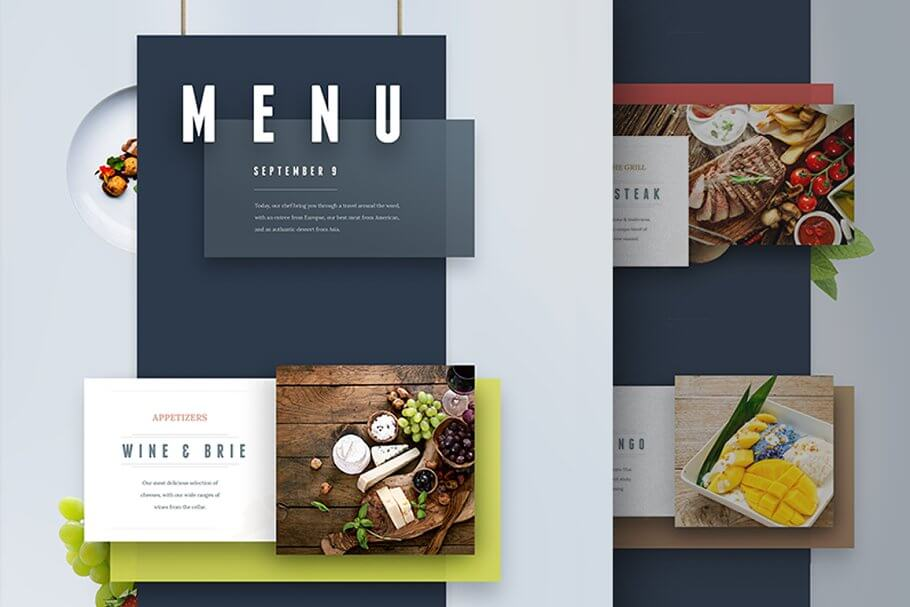 Menu and Presentation UI (1)