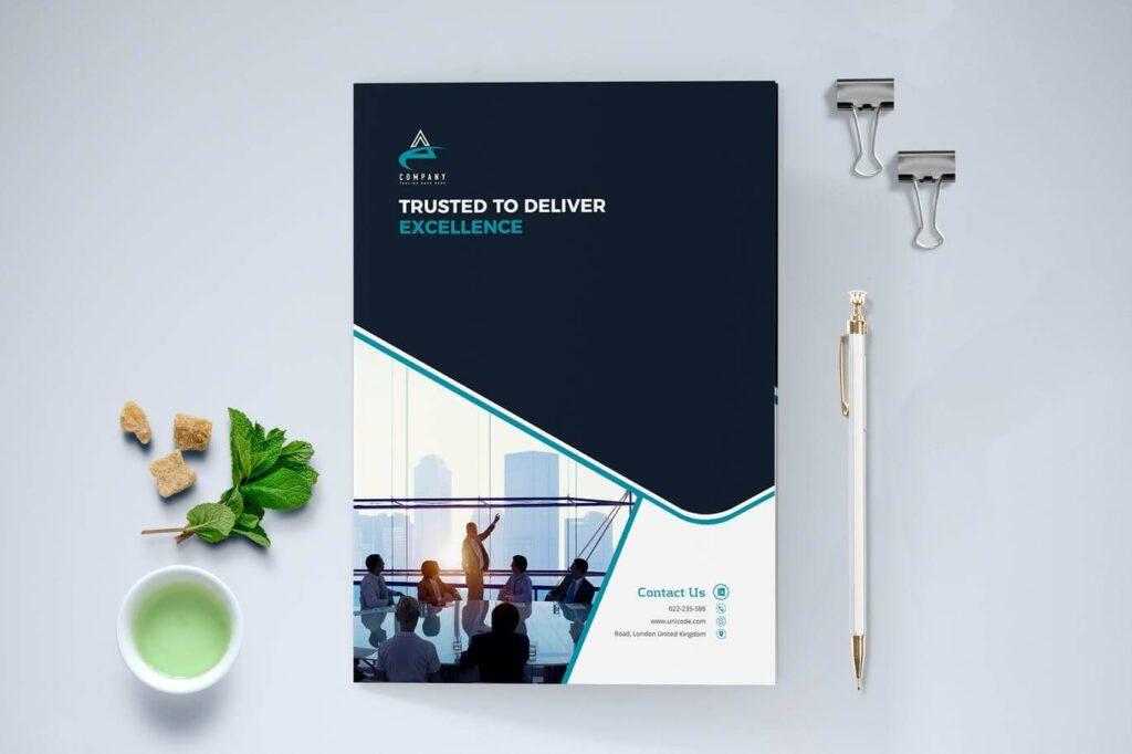 Modern Brochure Bi-Fold