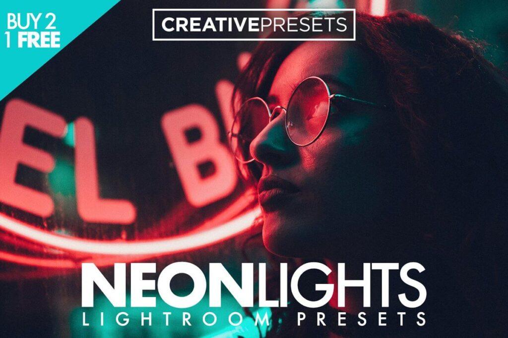 Neon Lights Lightroom Presets
