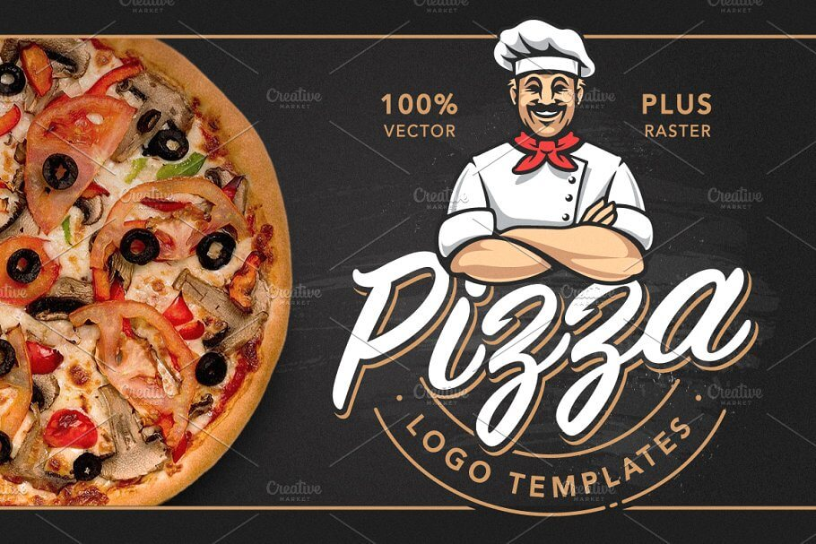 Pizza Logo Templates (1)