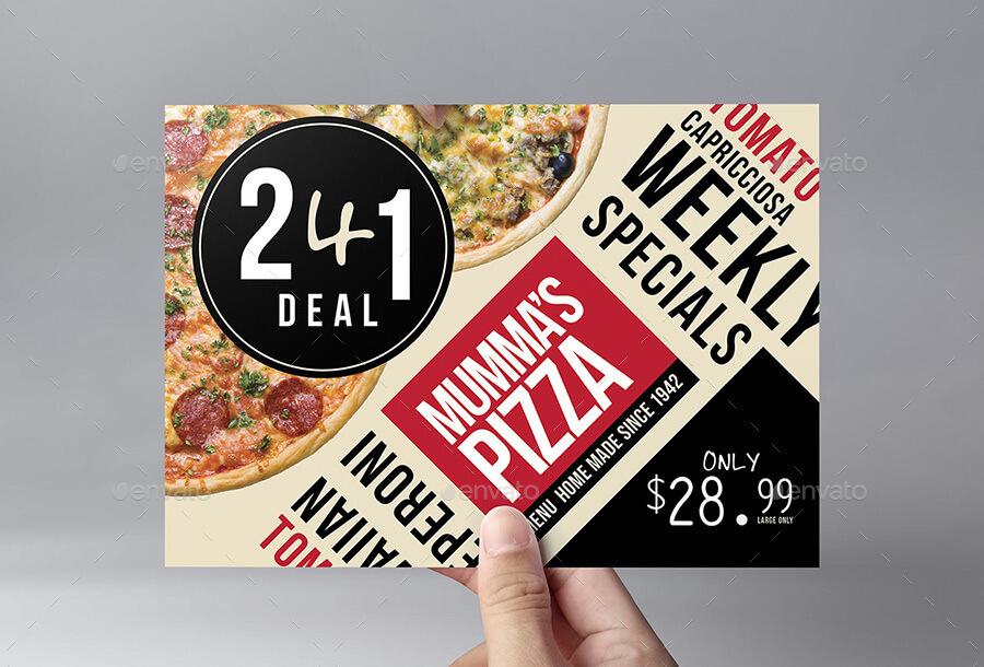 Pizza Menu Flyer (1)
