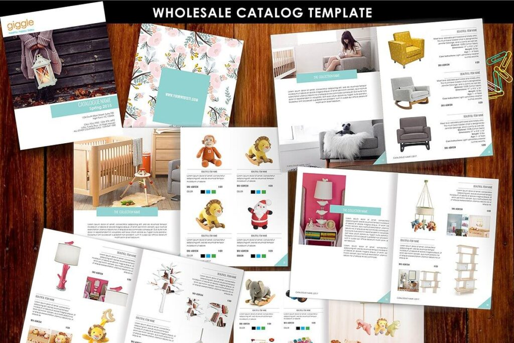 Product Brochure,Product Catalog id5