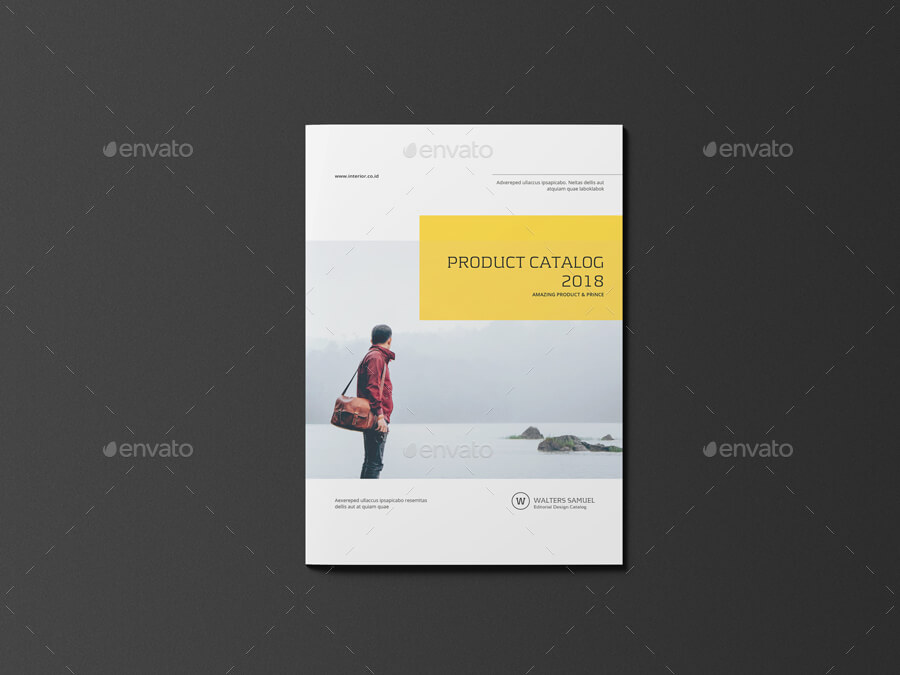 Product Catalogs Brochure Template