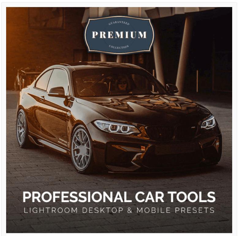 Professional Car Lightroom Desktop & Mobile Presets