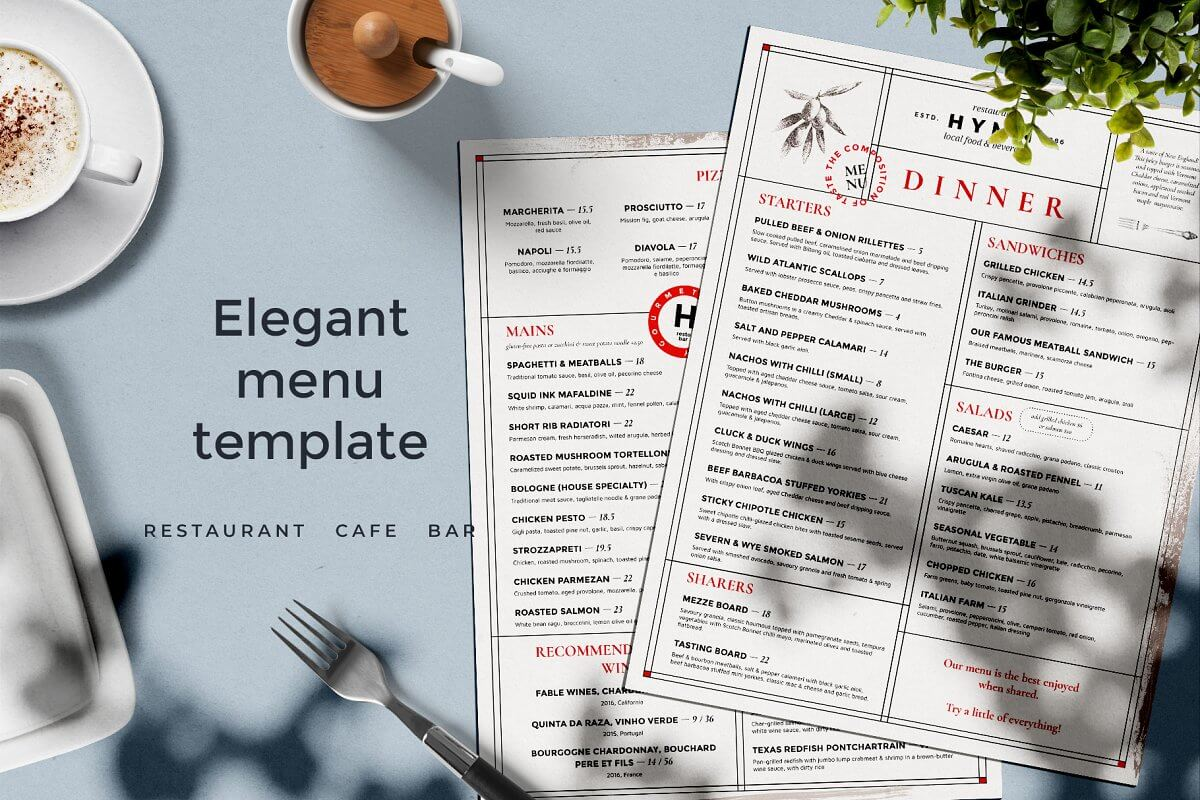 Restaurant Menu Design (1)