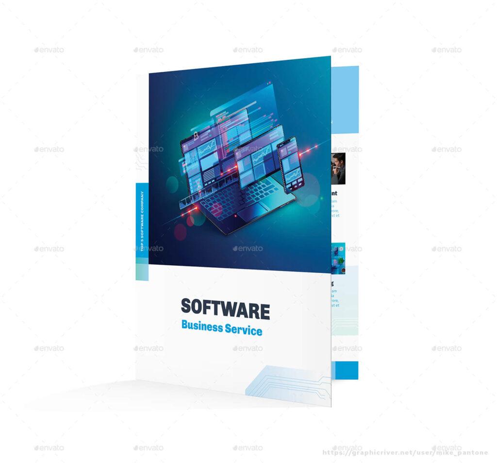 Software Bifold Brochure