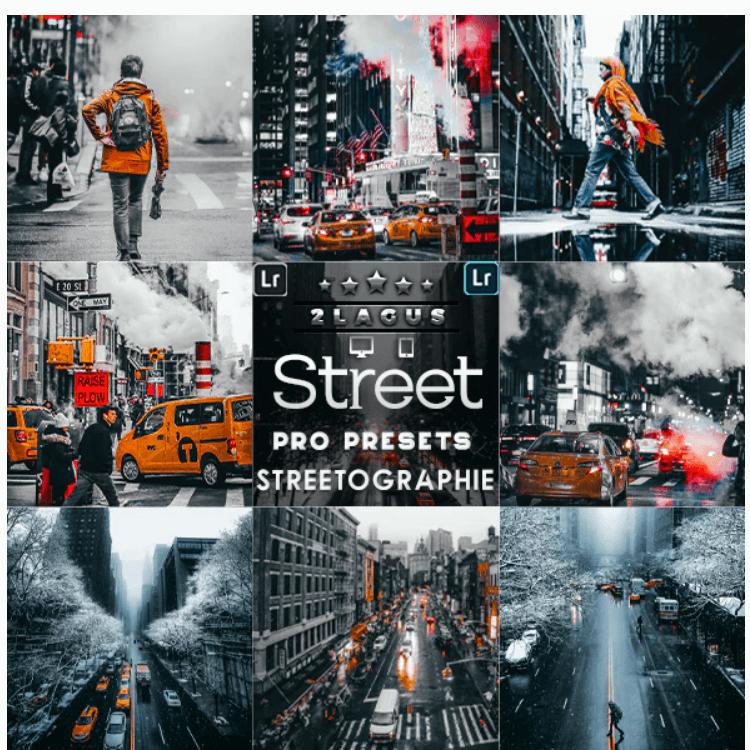 Streetographie - Cinematic Lightroom Presets
