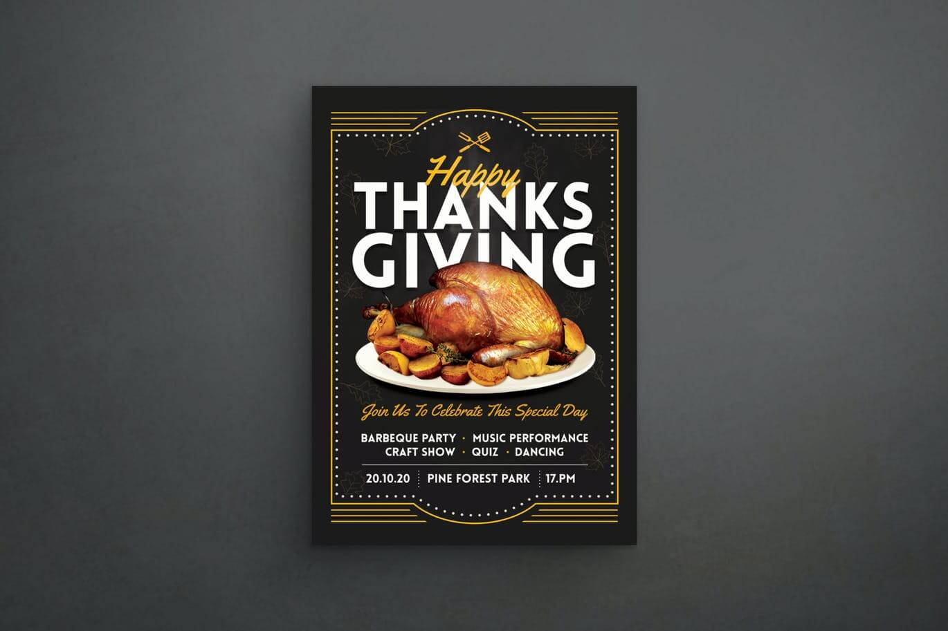 Thanksgiving Dinner Flyer (1) (1)
