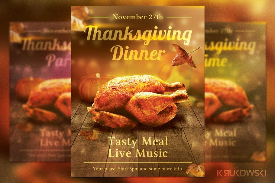 Thanksgiving Dinner Flyer (1)