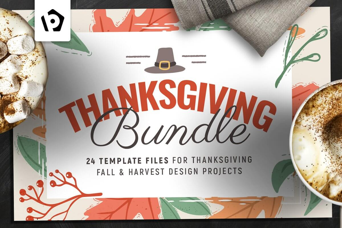 Thanksgiving Flyer Poster Bundle (1)