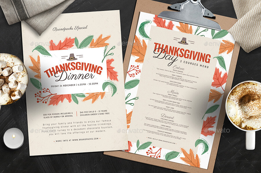 Thanksgiving Menu Template (1)