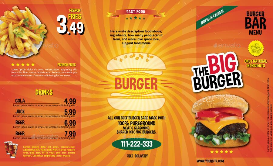 The Big Burger Menu (1)