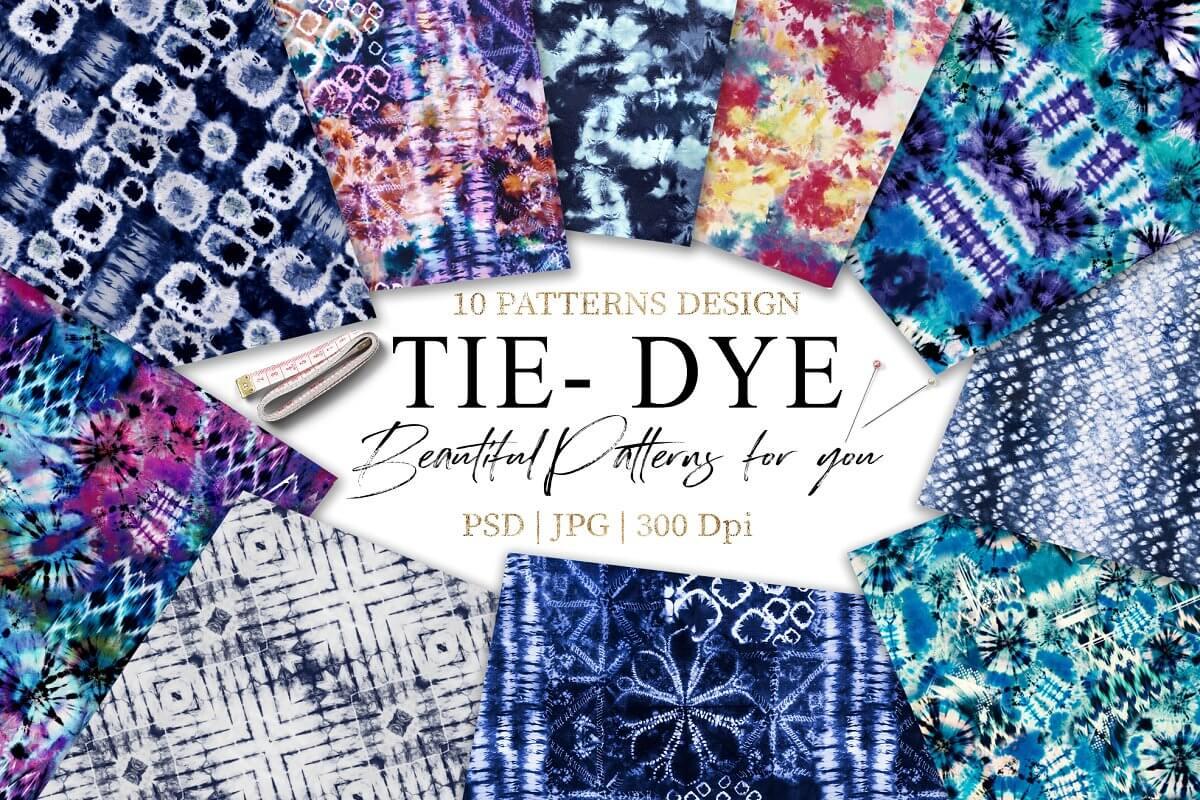 Tie Dye Seamless Shibori (1)