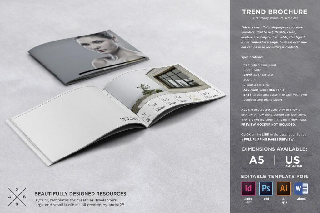 Trend Brochure Template