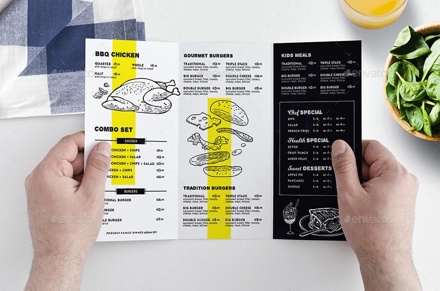 Tri-Fold Menu Template (1)