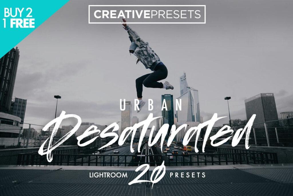 Urban Desaturated Lightroom Presets1