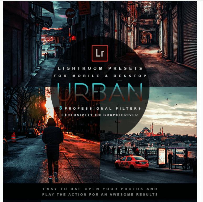 Urban - Lightroom Presets1