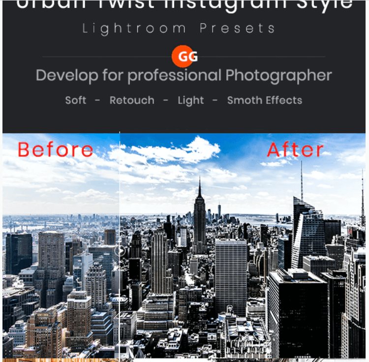 Urban Twist Instagram Style Lightroom Presets