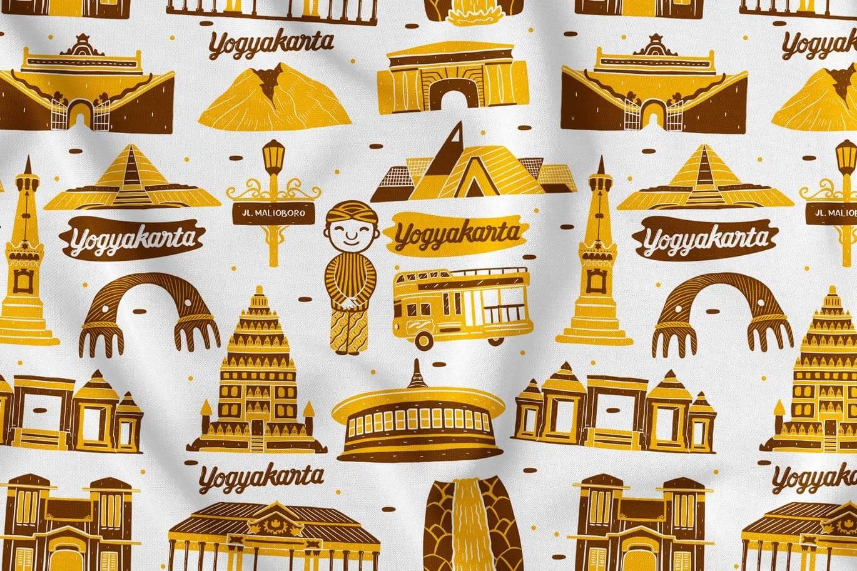 Yogyakarta Seamless Pattern (1)