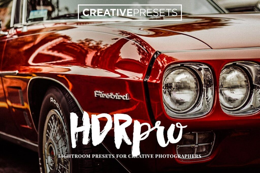 10 HDR PRO - Lightroom Presets