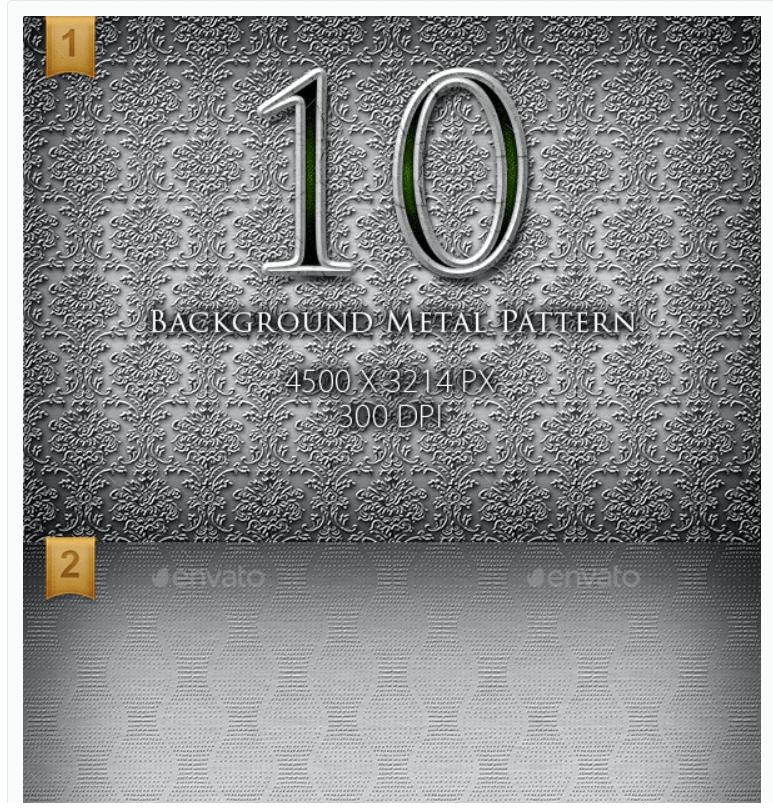 10 High Resolution Background Metal Pattern