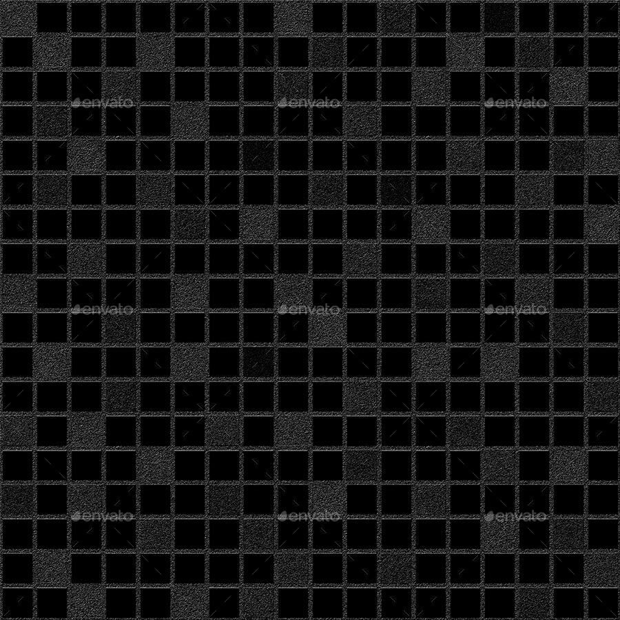 12 Seamless Black Patterns