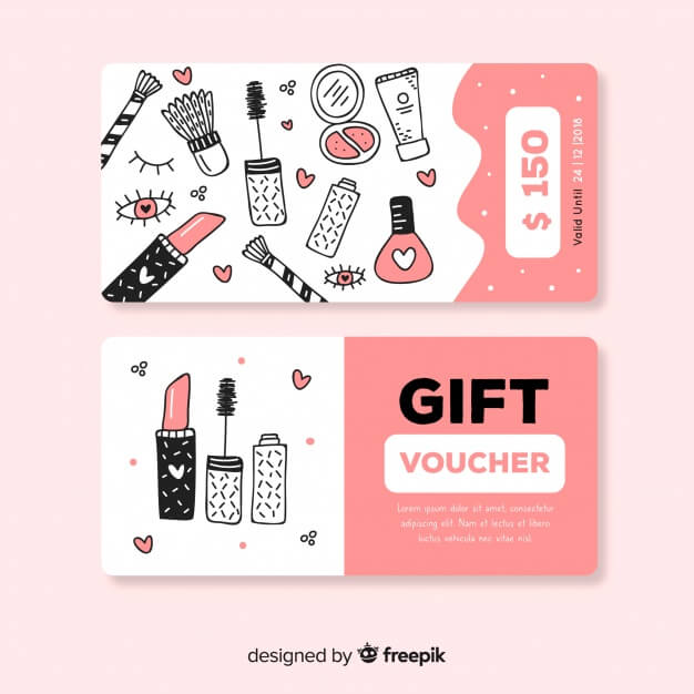 150$ gift voucher Free Vector (2)