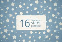 16 seamless stars patterns