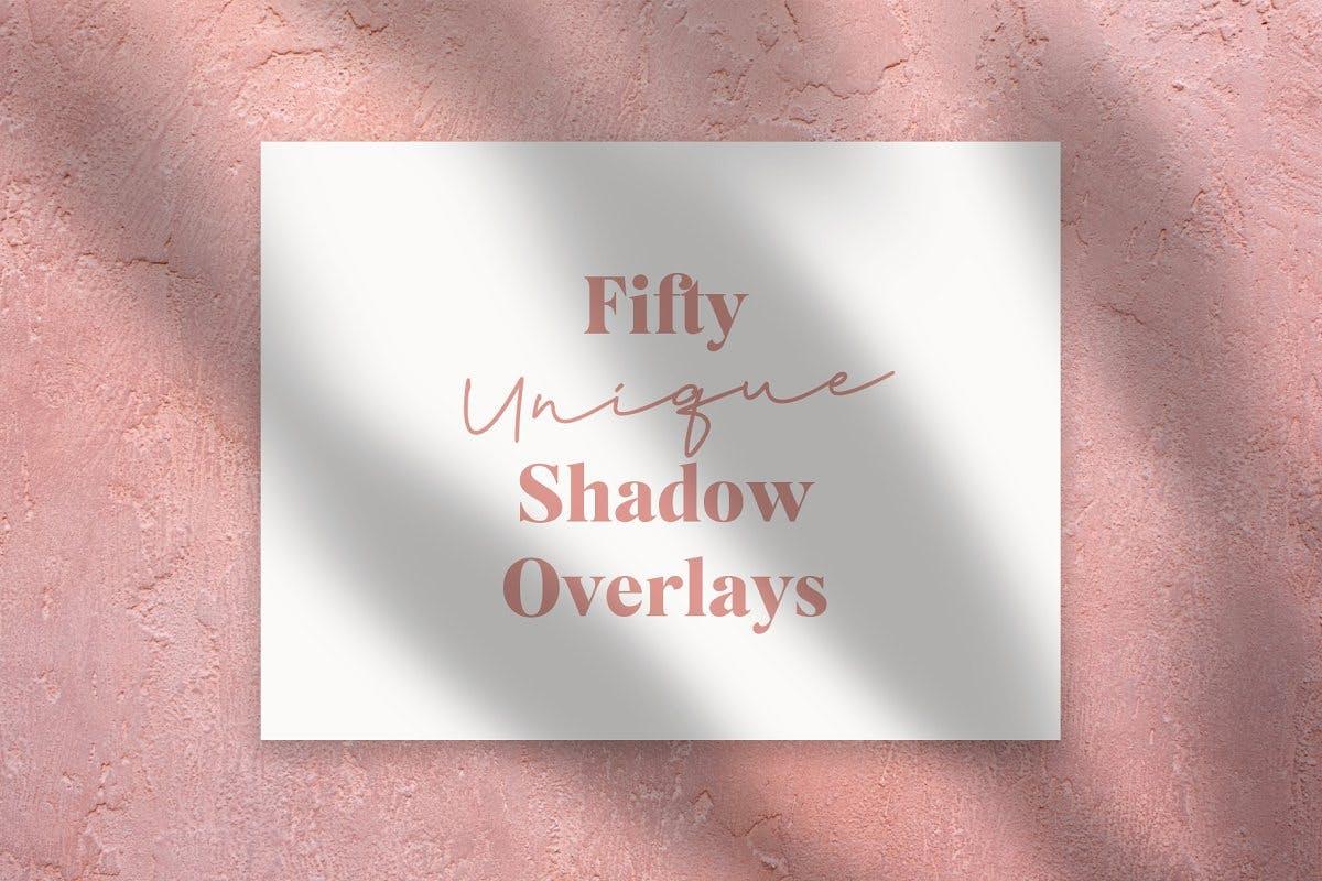50 Unique Shadow Overlays