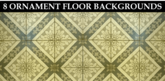 8 Ornament Floor Background Patterns