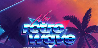 80s Retro Text Effects Retrowave Synthwave