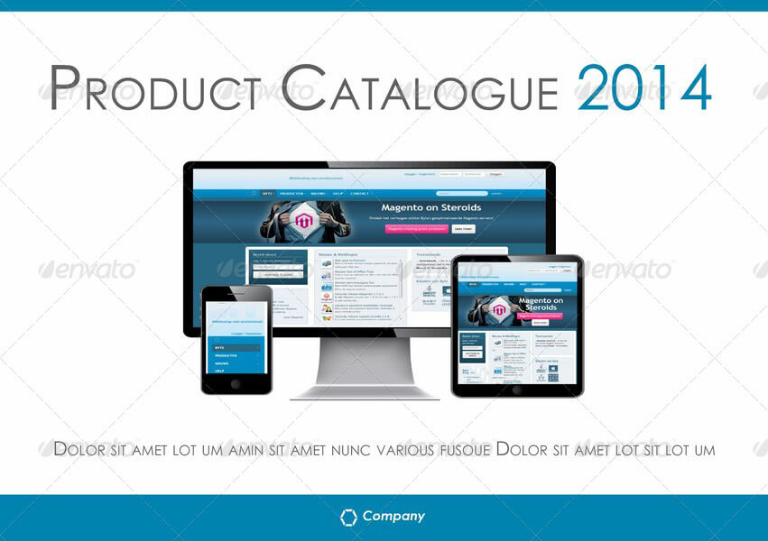 A5 Product Catalogue Template