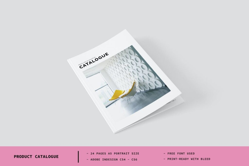 A5 Product Catalogue template - Cp