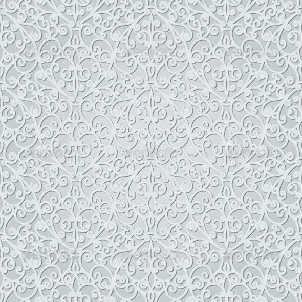 Abstract Grey Seamless Pattern