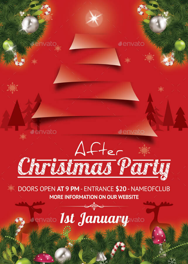 After Christmas Party Template 49
