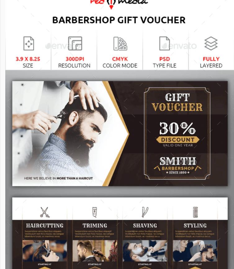 Barbershop Gift Voucher